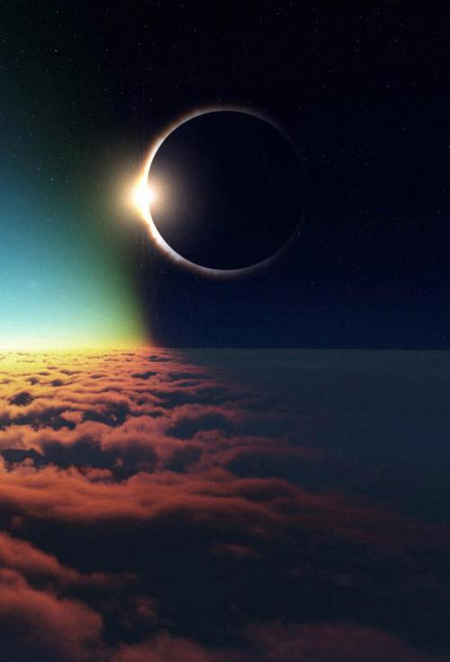 New Moon, a Solar Eclipse. Here are a few thoughts about this eclipse