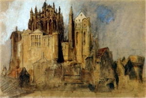 John Ruskin Watercolour