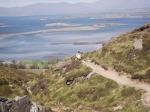 Maggie climbs Croagh Patrick Mountain